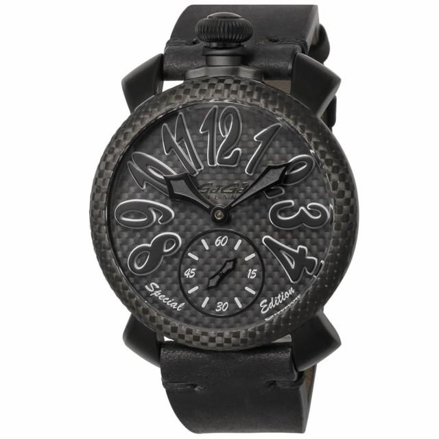 驚きの値段 ガガミラノ メンズ 腕時計 アナログ 腕時計/GaGa/GaGa MILANO マヌアーレ MANUALE ガガミラノ レザーベルト ラウンドケース アナログ 腕時計 ブラック, リシリチョウ:0eba6ac5 --- kzdic.de