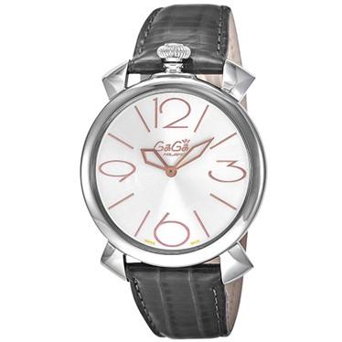 ファッション ガガミラノ メンズ 腕時計/GaGa 腕時計 メンズ/GaGa MILANO MANUALE THIN46mm 腕時計 腕時計/シルバー, ナガトマチ:7bab59b8 --- 1gc.de