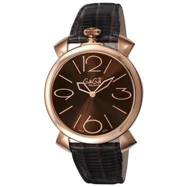最高の品質 ガガミラノ メンズ 腕時計/GaGa MILANO MANUALE THIN 46MM 腕時計, 指宿市 7f4db6cc