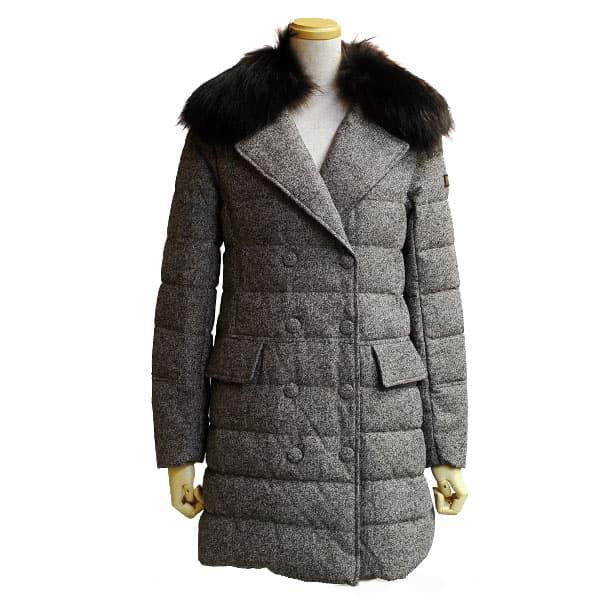 品質一番の ダウンコート01サイズ/TATRAS MOCHA ツイード調 ミディアム丈 [即日発送]タトラス ダウンコート レディース-アウター