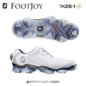 フットジョイ XPS-1 Boa ボア 56004 ゴルフシューズ ホワイト×シルバー