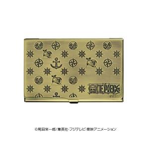 74cacd3e27af ONE PIECE(ワンピース) 電伝虫メタルカードケース ブラス ドフラミンゴ 70316