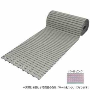 みずわ工業 日本製 抗菌 ロールスノコ 5m パールピンク(支社倉庫発送品)