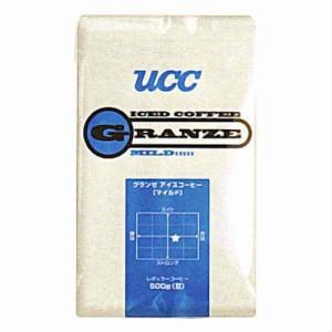 (支社倉庫発送品)UCC上島珈琲 UCCグランゼマイルドアイスコーヒー(粉)AP500g 12袋入り UCC301188000