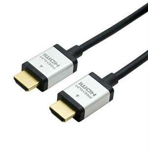 ミヨシ PREMIUM HDMIケーブル 1m 黒 HDC-P10/BK