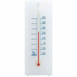 EMPEX 温度度計 シュクレ温度計 卓上・壁掛兼用 TG-2351 クリアホワイト(支社倉庫発送品)