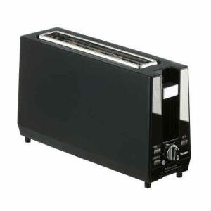 ツインバード ポップアップトースター ブラック TS-D424B(支社倉庫発送品)