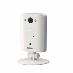 ツインバード ワイヤレス・ルームカメラ ホワイト VC-AF50W(支社倉庫発送品)