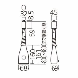 パナソニック リーラーコンセント 〜180cm DH8550