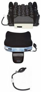 介護用品 車いす用除圧機能付エアセルクッション Medi-Air メディエア スカイ MS-Y315 31.5×40cm 車椅子