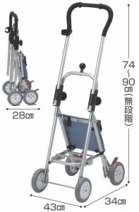 コメット ベーシックタイプ 歩行補助車 介護用品