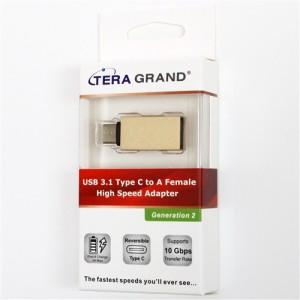 テック OTG機能対応Type C to USB3.1変換コネクター USB31-TE261-GD