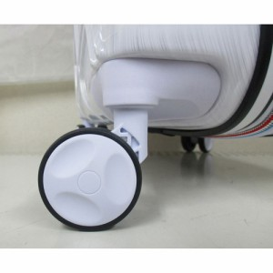 ウイングスカンパニー AIR GATEWAY 拡張型ファスナーハードキャリー ホワイト AG-5226WHWG