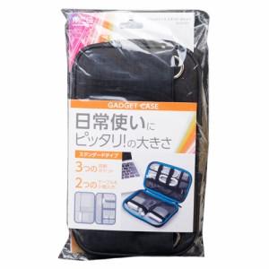 ミヨシ ガジェットケース スタンダード ブラック BAG-GE01/BK