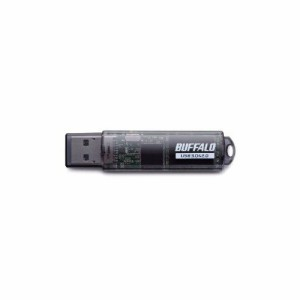 BUFFALO バッファロー USBメモリ USB3.0対応「ライトプロテクト機能」搭載モデル RUF3-C8GA-BK