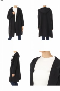 【50%OFF】AZUL by moussy / アズール バイ マウジー《WEB限定サマーセール》【AZUL BY MOUSSY】裏毛フードロングカーデWOMEN【MARKDOWN