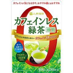 三井銘茶 カフェインレス緑茶(40g)[緑茶]