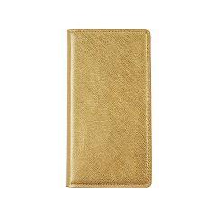 6a45cd7121 レイブロック Xperia XZ サフィアーノ フリップケース ゴールド LB9224XXZ(1コ入)[ケース