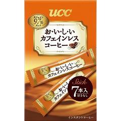UCC おいしいカフェインレスコーヒー スティック(7本入)[カフェインレスコーヒー]