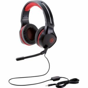 ゲーミングヘッドセット コントローラー付属 ブラック HS-G01BK(1個)[ヘッドセット]