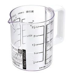 """""""イージーウォッシュ 食器洗い乾燥機対応 耐熱計量カップ 500mL(1コ入)(発送可能時期:5-7日(通常))[調理器具 その他]"""""""