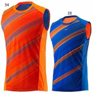 ミズノ ランニングノースリーブシャツ J2MA7001