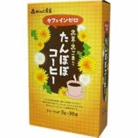 単品販売 がんこ茶家 たんぽぽコーヒー 3g*30袋入 [代引選択不可]