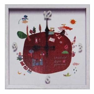 取寄品 送料無料 カワツ ナツコ 壁掛け時計 アーティストウォールクロック 可愛いインテリア