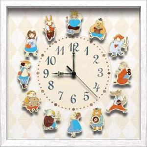 取寄品 送料無料 山本史 壁掛け時計 アーティストウォールクロック 可愛いインテリア