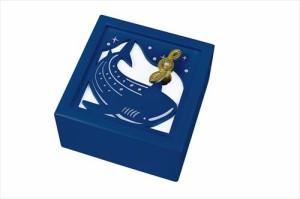 取寄品 木製 Aメロディ オルゴール G-6279BL ジンベイザメ 可愛いお洒落グッズ シネマコレクション