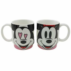 ミッキー&ミニー/マグカップ ペアマグ2個セット LOVE/フェイス ディズニー キャラクターグッズ通販