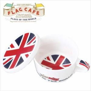 取寄品 国旗デザイン ふた付マグカップ フラッグカフェ イギリス UK 日本製誕生日ギフト雑貨通販