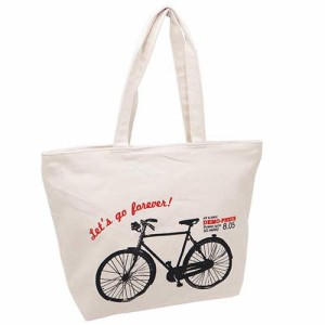 トートバッグ 横型キャンバストート 自転車  ティーンズグッズ通販