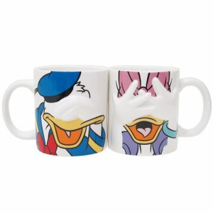 ドナルド&デイジー マグカップ ペアマグカップ2個セット ハイディング ディズニー キャラクター グッズ