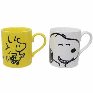 スヌーピー マグカップ ペア撥水マグ2個セット スヌーピー&ウッドストック ピーナッツ キャラクター グッズ