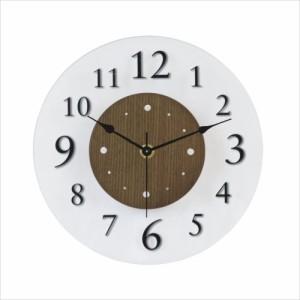 取寄品 ナチュラリー 壁掛け時計 ウォールクロック ブラウン かわいい グッズ