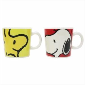 スヌーピー マグカップ ペアマグ2個7セット スヌーピー&ウッドストック ピーナッツ キャラクター グッズ