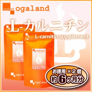 お徳用L-カルニチン(2個セット・約6ヶ月分)3150円以上送料無料 ダイエットサポート 健康サポート 激安 サプリメント