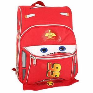 3dbd46d76b9a カーズ マックイーン型トドラーリュックサック 【子供用 キッズサイズ 赤 レッド バッグ かばん ダイカット