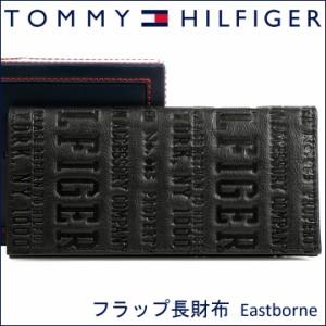 36e2794fb979 トミーヒルフィガー 長財布 TOMMY HILFIGER トミー 財布 メンズ ブラック 31TL19X018 BLACK