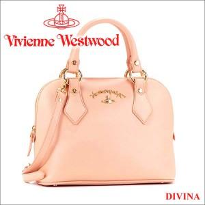 ヴィヴィアンウエストウッド Vivienne Westwood バッグ ハンドバッグ ショルダーバッグ ピンク 7281V DIVINA PINK