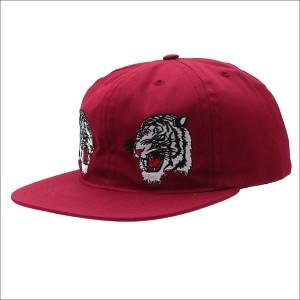 (新品)Bianca Chandon(ビアンカシャンドン) 2 Tigers Hat (キャップ) BURGUNDY 420-000051-013x(ヘッドウェア)