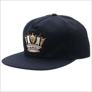 (新品)Bianca Chandon(ビアンカシャンドン) Vintage Applique Hat 6 (キャップ) BLACK 420-000053-011x(ヘッドウェア)