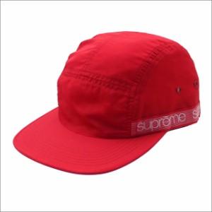 (新品)SUPREME Tonal Taping Camp Cap (キャンプキャップ) RED 265-001075-013+ 新品 (ヘッドウェア)