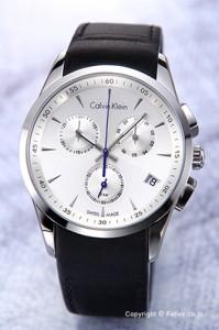 6bf702442c (シーケー プレイ) K2W21Y46 シルバー Ck Play 【カルバンクライン 時計】 Calvin Klein カルバンクライン メンズ腕時計  (グレー ...