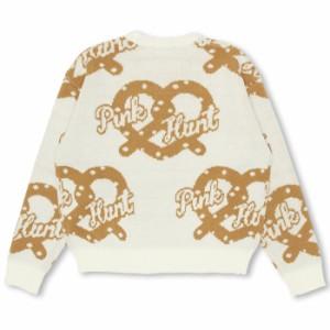 11/15NEW PINKHUNT プレッツェル ニットトップス-キッズ ジュニア ベビードール 子供服-9825K