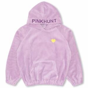SALE60%OFF アウトレット PINKHUNT ボア パーカー キッズ ジュニア プルオーバー ベビードール 子供服-9826K