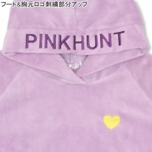 11/15NEW PINKHUNT ボア パーカー-キッズ ジュニア プルオーバー ベビードール 子供服-9826K