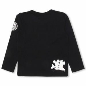 SALE50%OFF アウトレット 親子ペア ディズニー キャラクター  ロンT ベビーサイズ キッズ ベビードール 子供服/DISNEY-0226K