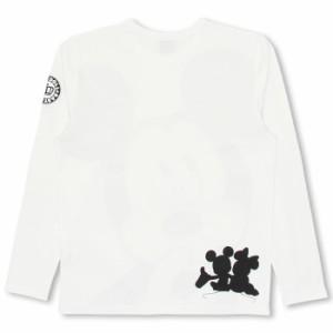SS_SALE50%OFF 親子ペア ディズニー キャラクター ロンT-大人 男女兼用 レディース メンズ ベビードール 子供服/DISNEY-0226A
